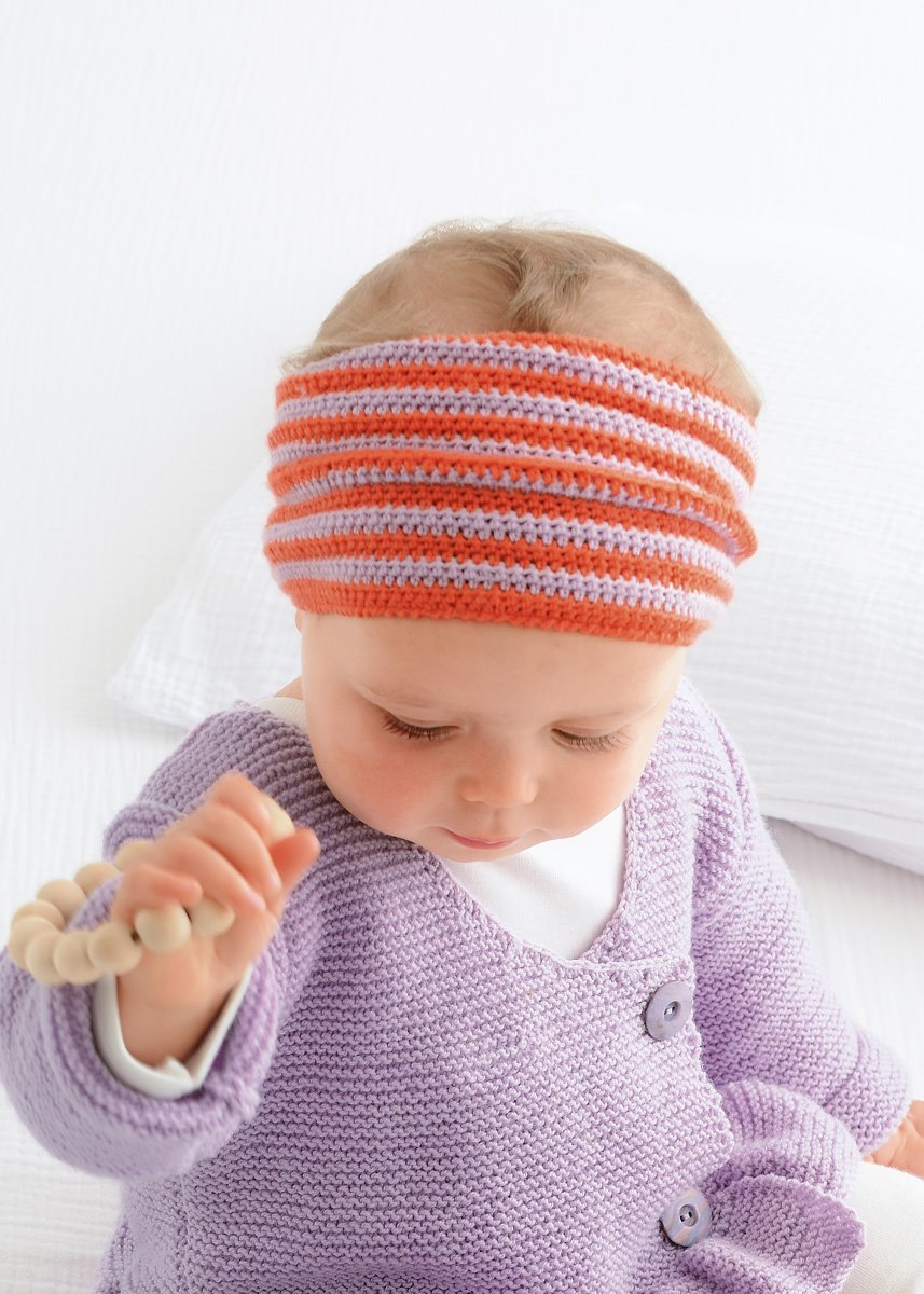 LANA GROSSA STIRNBAND COOL WOOL BABY | INFANTI EDITION No. 1 - Modell 1